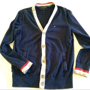 Tommy Hilfiger Sweaters - Reserved Tommy Hilfiger Men's Cotton Cardigan